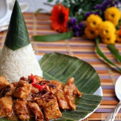 manado, food, rica, chicken, indonesian, spicy, food