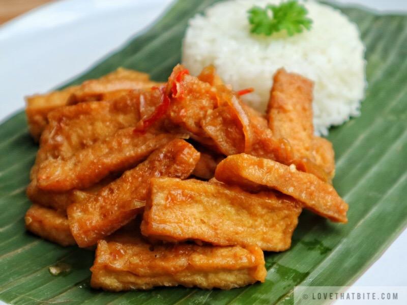 Indonesian stir fry tofu – Oseng tahu
