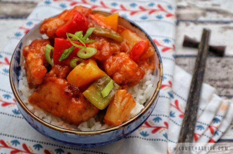 Sweet and sour chicken lovethatbite sweet and sour chicken forumfinder Choice Image