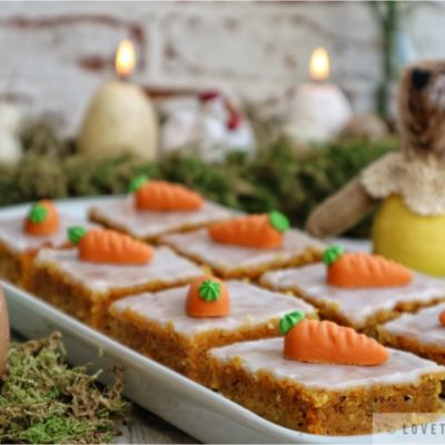 carrot, cake, easter, recipe, sweet, treat, idea, rabbit, candles, decoration, eggs, tasty, delicate, sugar, glaze, basic