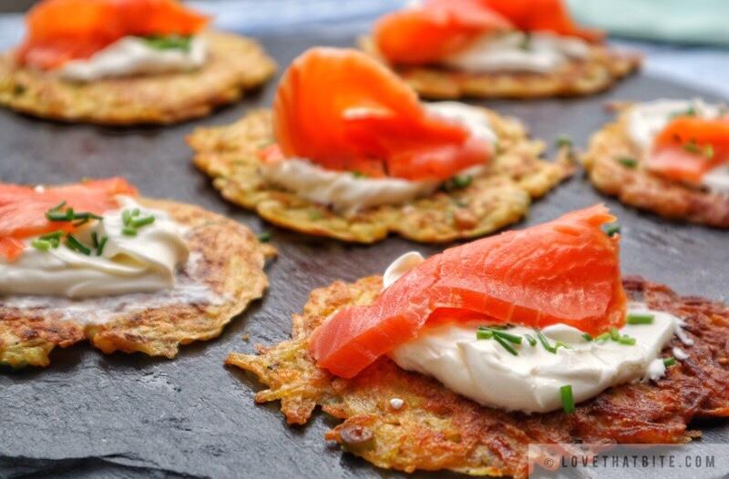 Rösti with smoked Salmon