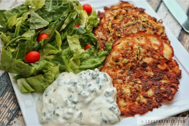 Zucchini Hash Browns – Zucchini Puffer